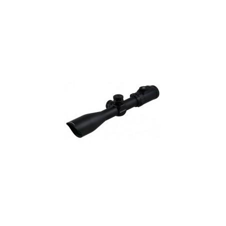 Пистолет PCP Kral Puncher NP-02 до 7,5 Дж орех 4,5мм с тактическим прикладом и коллиматорным прицелом