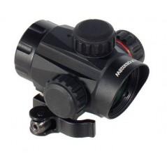 Пистолет PCP Kral Puncher NP-02 до 7,5 Дж орех 4,5мм с тактическим прикладом и коллиматорным прицелом купить в Москве