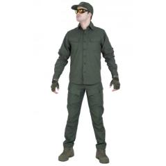 Легкая тактическая мужская рубашка GONGTEX TRAVELLER SHIRT, полиэтер-эластан, цвет Мультикам