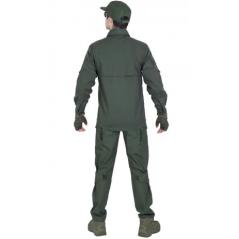 Легкая тактическая мужская рубашка GONGTEX TRAVELLER SHIRT, полиэтер-эластан, цвет Мультикам купить в Москве