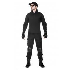 Легкая тактическая мужская рубашка GONGTEX TRAVELLER SHIRT, полиэтер-эластан, цвет Олива купить в Москве