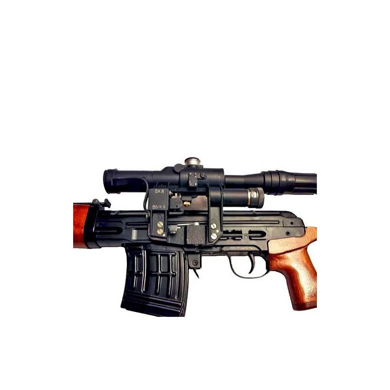 купить Пистолет сигнальный ВПО-524 Ракетница СПШ-44 под капсуль жевело деревянная рукоять