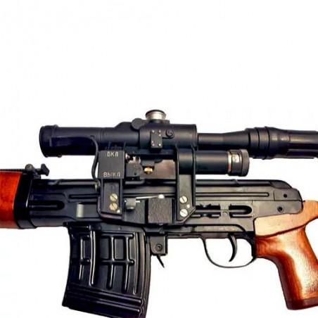 Пистолет сигнальный ВПО-524 Ракетница СПШ-44 под капсуль  жевело  деревянная рукоять