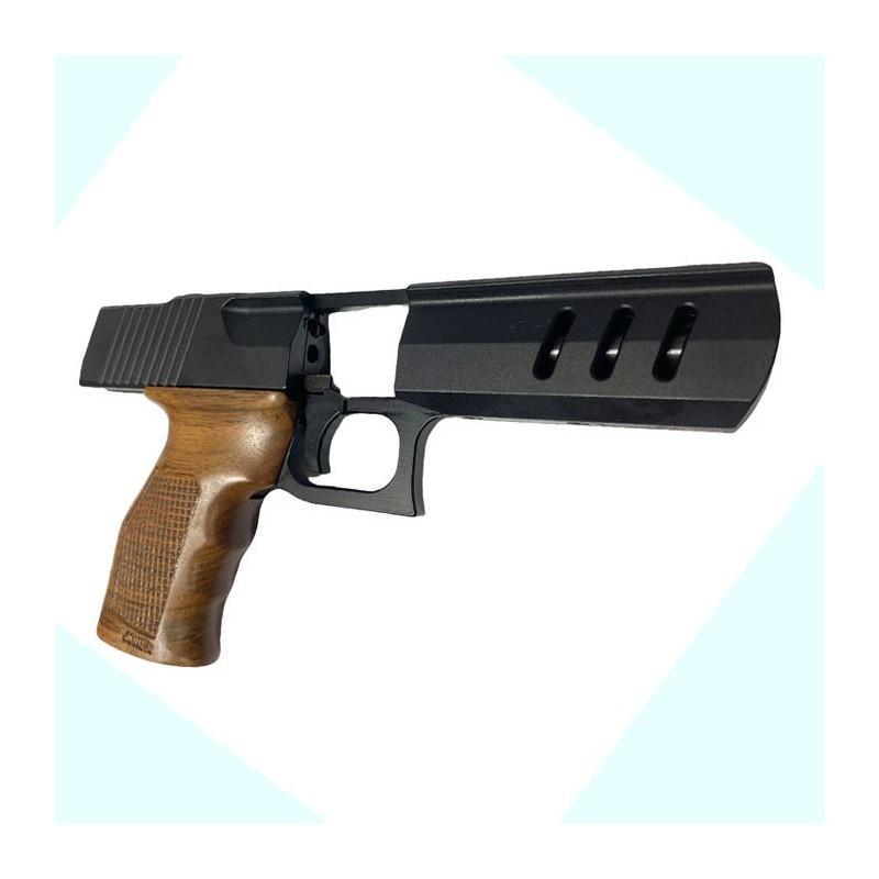 Револьвер сигнальный Ekol Viper 2,5 Графит с насадкой под ракеты