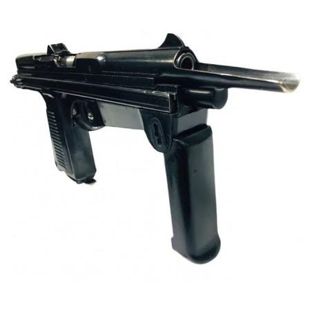 Сигнальный револьвер Rohm Little Joe черный с насадкой под ракеты